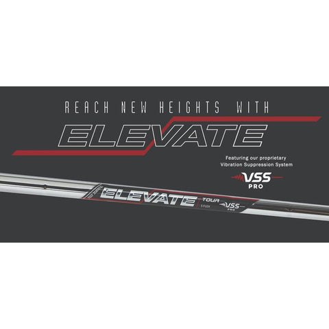 "True Temper Elevate TOUR with VSS PRO Steel Shaft - 0.355"" Taper Tip"