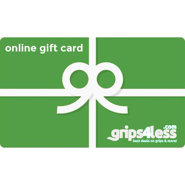 $50 Grips4less  Gift Card