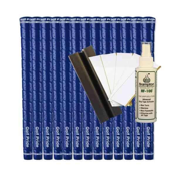 Golf Pride Tour Wrap 2G Standard Blue (13pcs + Golf Grip Kit)