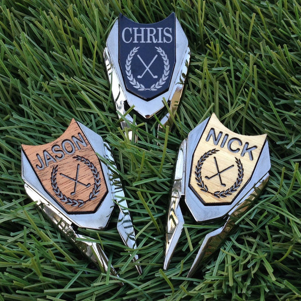 Handmade Personalized Custom Golf Divot Tool / Ball Marker (Makes a Perfect Gift)