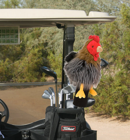 Furry Animal Headcover - Chicken