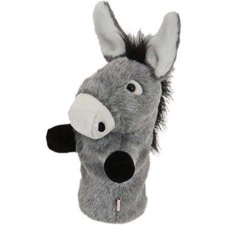 Furry Animal Headcover - Donkey