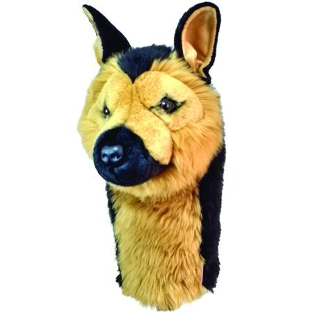 Furry Animal Headcover - German Shepherd