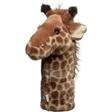 Furry Animal Headcover - Giraffe