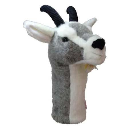 Furry Animal Headcover - Goat