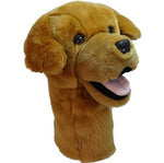 Furry Animal Headcover - Golden Retriever