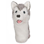 Furry Animal Headcover - Husky