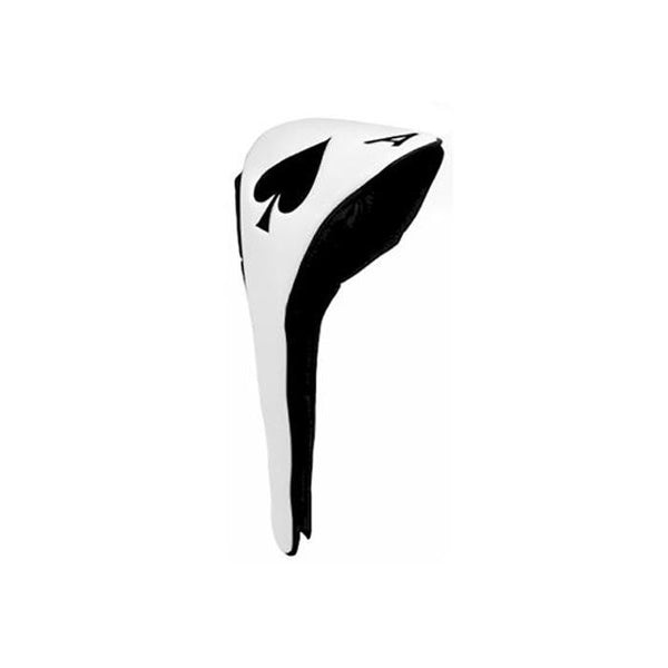 Ace of Spades Golf Club Driver Headcover with Magnetic Closure