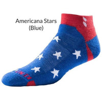 KentWool Men's USA Tour Profile Golf Sock - Stars & Stripes