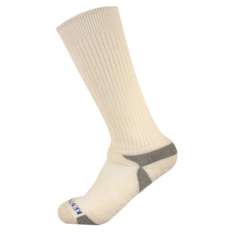 Bundle Set KentWool Mens Tour Standard Golf Socks (Natural/3-pack)