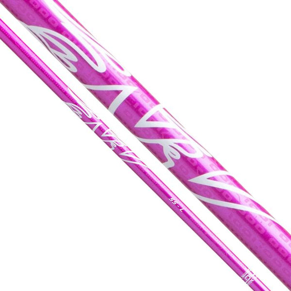 (ASSEMBLED) Aldila NV Pink (NXT) 55 Ladies Flex Wood Shaft with Adapter Tip (Callaway / Cobra / Ping / Mizuno / TaylorMade / Titleist) + Grip