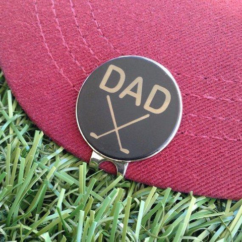 Handmade Personalized Magnetic Ball Marker + Hat Clip (Gift)