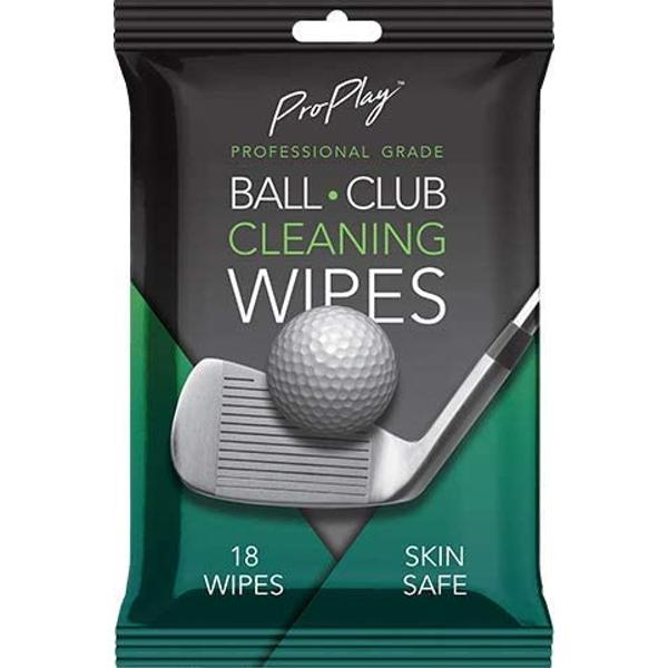 ProPlay Golf Club FACE & Ball Cleaning Wipes
