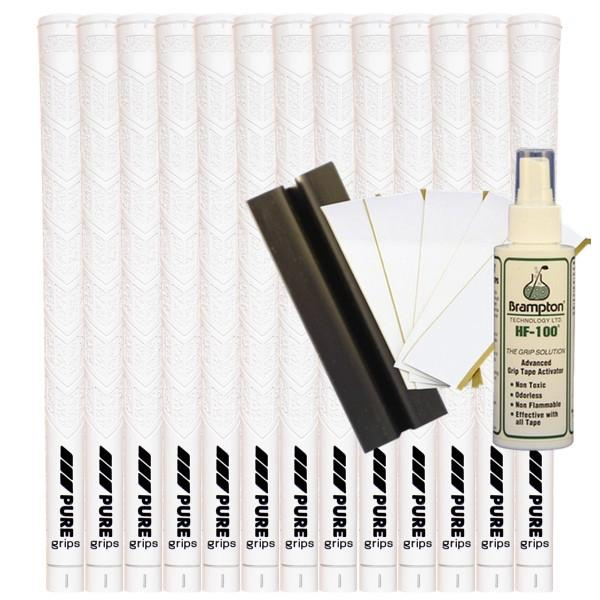 Pure  DTX Midsize - White (13pcs + Golf Grip Kit)