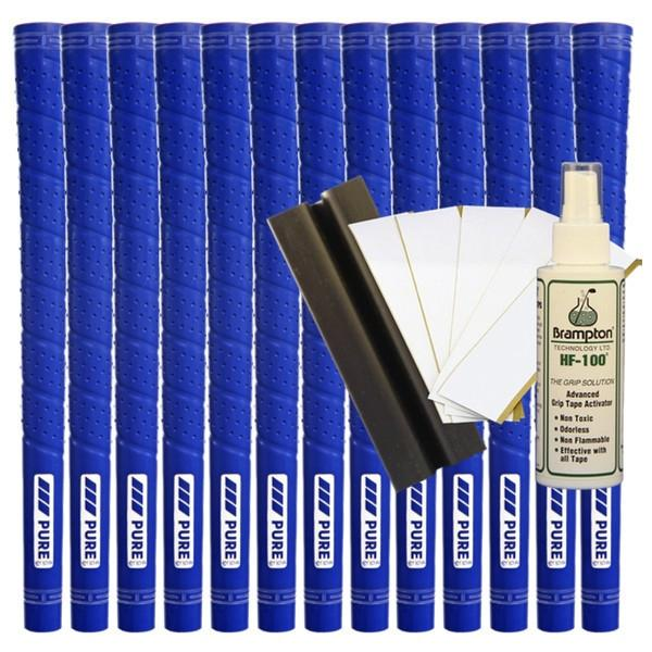 Pure Wrap Midsize - Royal Blue (13pcs + Golf Grip Kit)