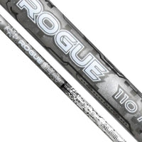 (Assembled) Aldila Rogue Silver 110 M.S.I. Hybrid Shaft with Adapter Tip + Grip