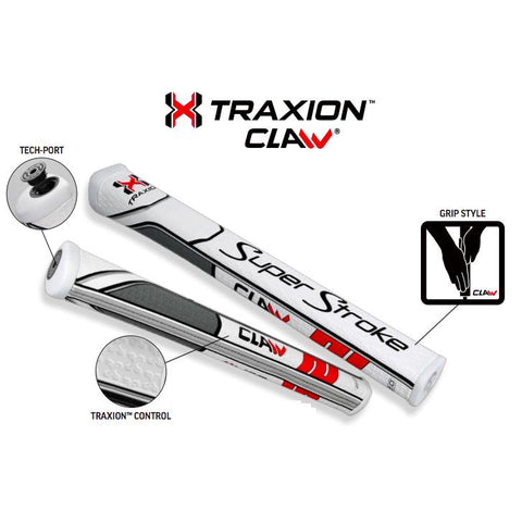 Super Stroke Traxion CLAW 1.0 Putter Grip