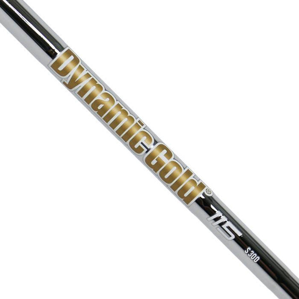 "True Temper Dynamic Gold 115 Iron Steel Shaft - (S300 / 37"") Tapered Tip"