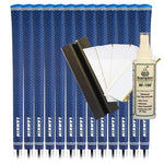 Lamkin UTx Cord Midsize - Solid Blue (13pcs + Golf Grip Kit)