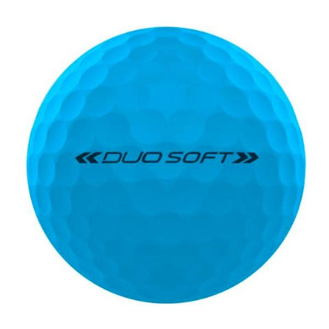 Wilson Staff DUO Optix Matte (12 pack) Golf Balls - Blue