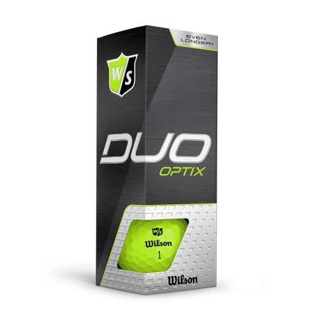Wilson Staff DUO Optix (12 pack) Golf Balls - Green
