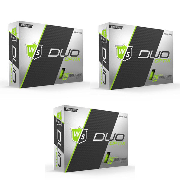 Wilson Staff DUO Optix Matte (36 pack) Golf Balls - Green