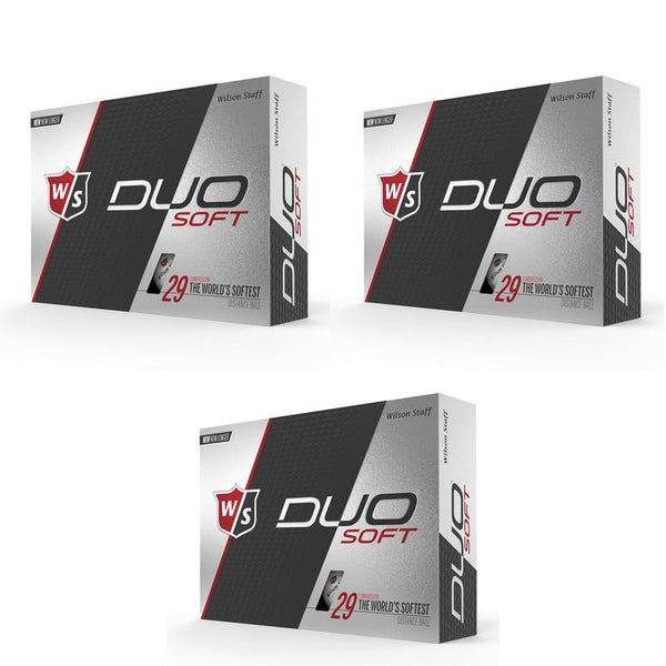 Wilson Staff DUO Optix Matte (36 pack) Golf Balls - Red