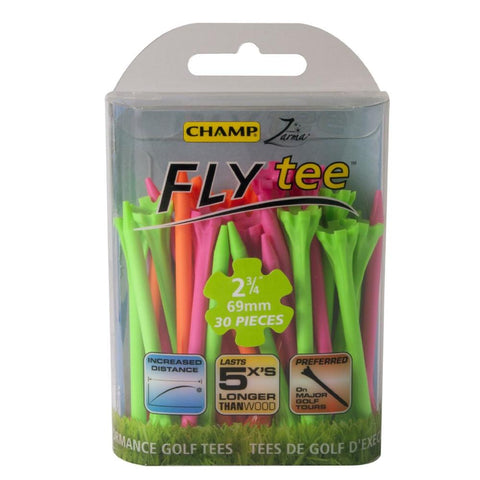 "Champ Zarma FLYTee 2-3/4"" (Pack of 30) - More Colors Available"