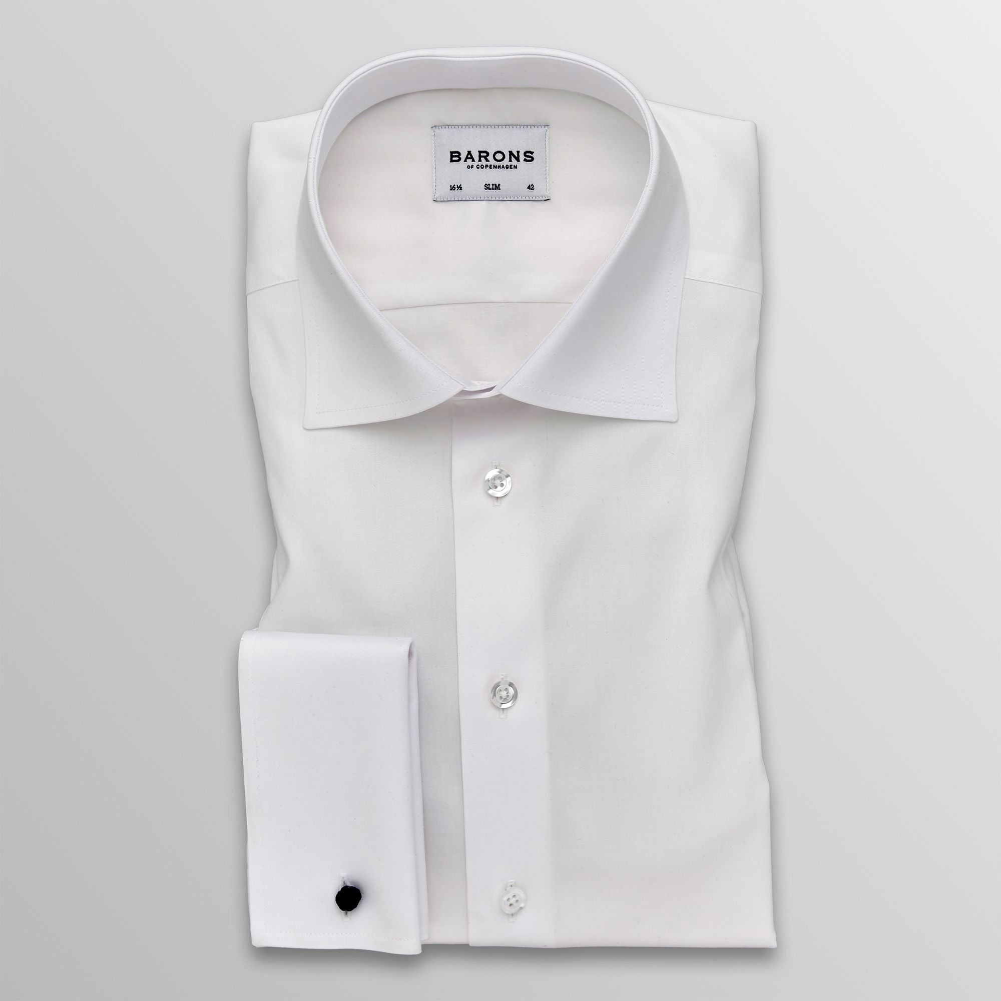 The Chiarman - Business shirt with double cuffs for the oldschool gentleman!