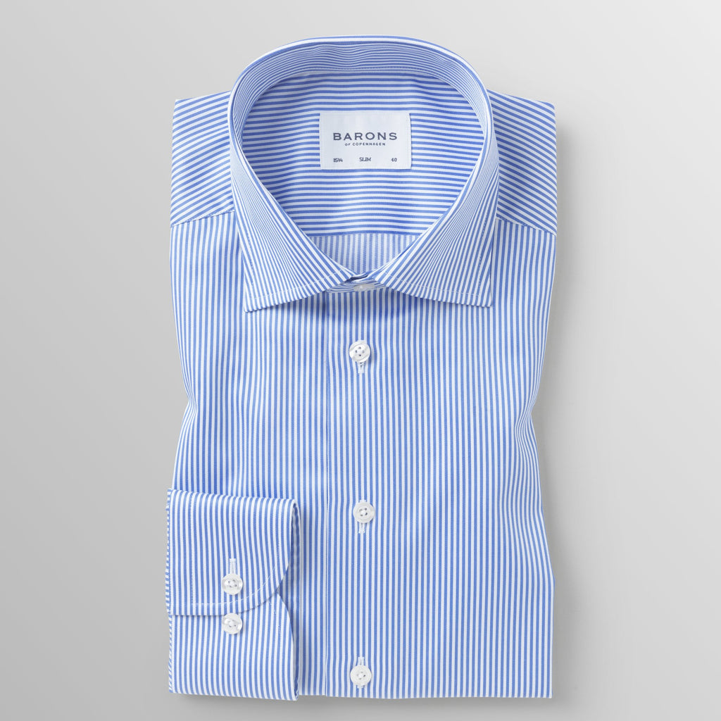 The Lawyer - Stripe non-iron performance business shirt