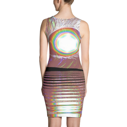 Yoga Punk Pineal Gland Third Eye Harmony Awareness Sublimation Cut & Sew Dress