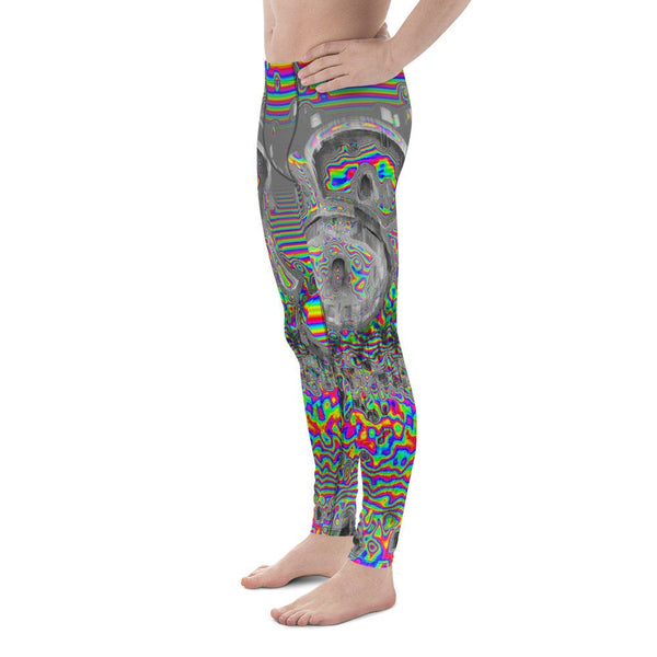 Space Donuts Glitch Psychedelic Meggings