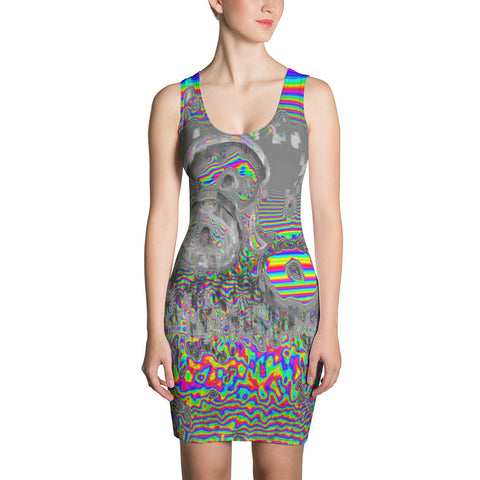 Space Donuts Sublimation Cut & Sew Dress