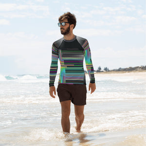 Superposition & Wavelengths Men's Rash Guard