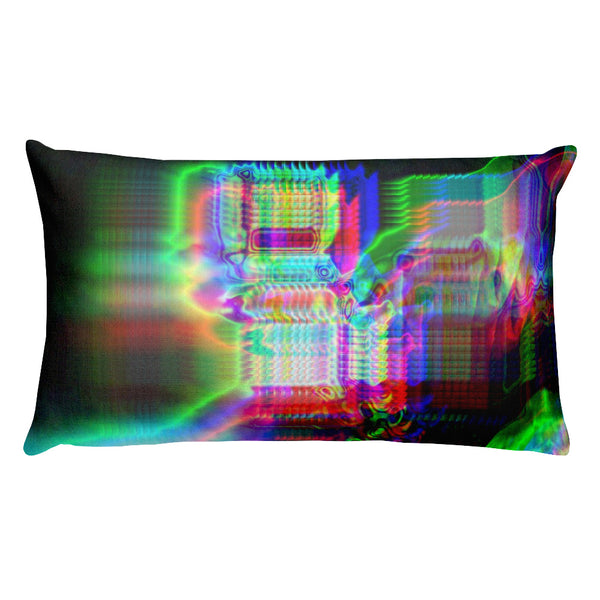 Chromaesthesia Glitch Premium Pillow