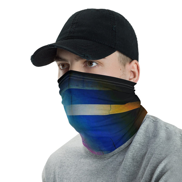 SYNAPSE Glitch Art Ninja Neck Gaiter Mask