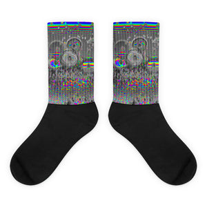 Space Donuts Socks