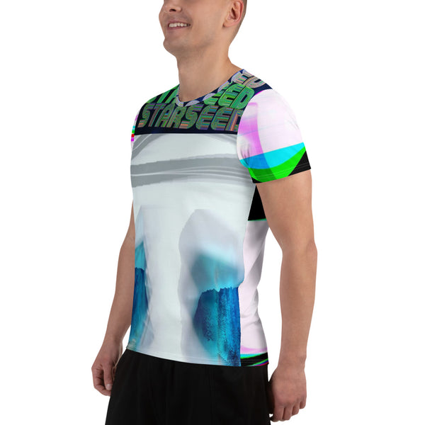 Quantum Starseed All-Over Print Men's Athletic T-shirt