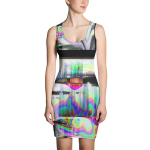 The Observer Effect Sublimation Cut & Sew Dress
