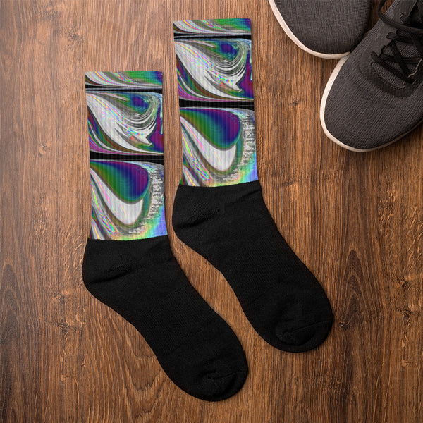 Chrome Cloudships Socks