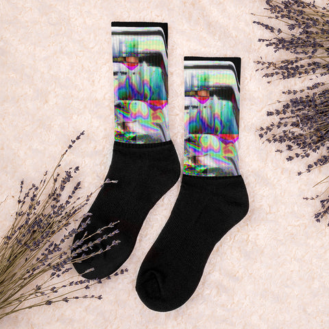 The Observer Effect Socks