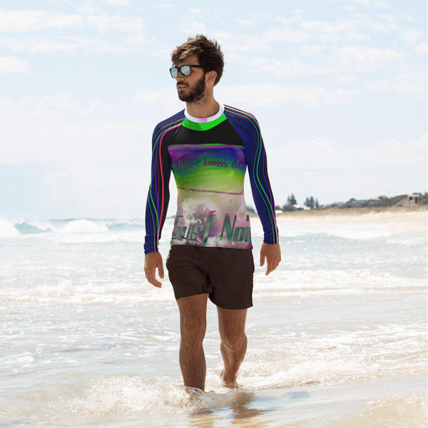 Surf Noir Men's Rash Guard