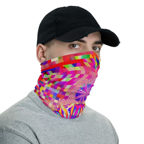 Hologrammatron Ninja Neck Gaiter Mask Balaclava Face Shield