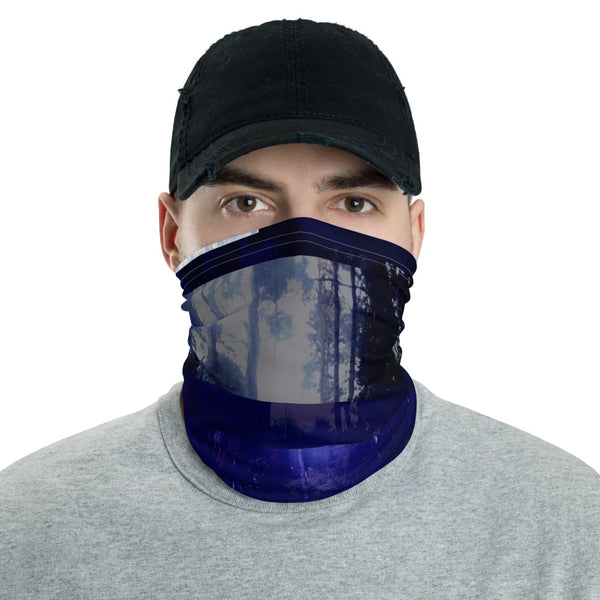 Interspacial Ninja Neck Balaclava Face Shield Mask