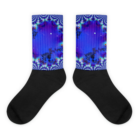 Molecules  | Glitch | Fractals | Quantum Physics | Sunflower | Permaculture Socks