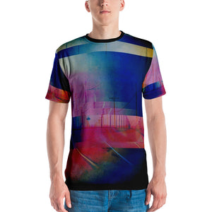 SYNAPSE Glitch California Roads Men's T-shirt