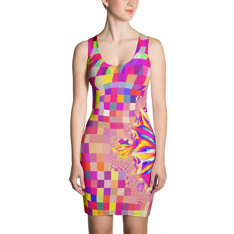 Hologrammatron Pixelated Dress