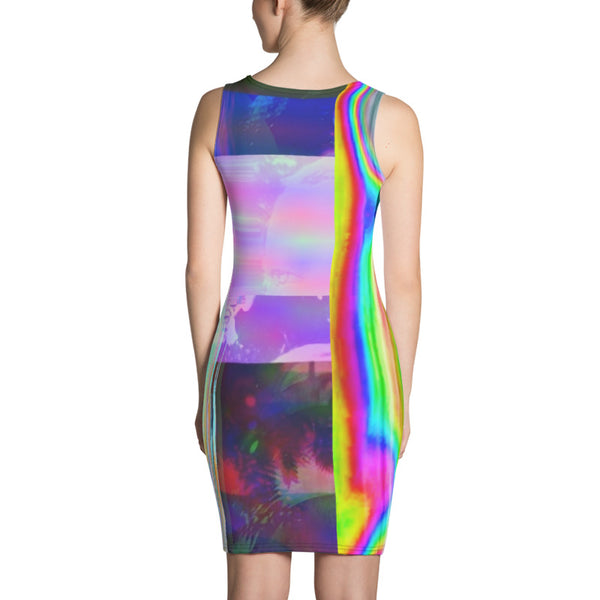 Space Lilith Sublimation Cut & Sew Dress