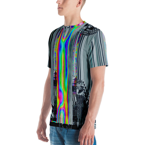 64 Bit God Glitch Men's T-shirt