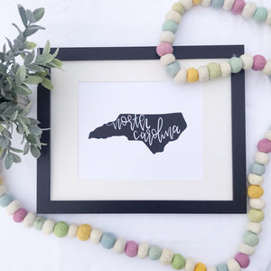 North Carolina Art Print